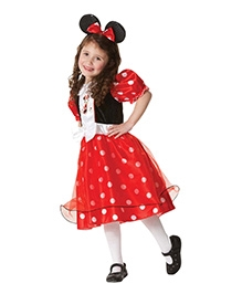 Minnie Mouse Spotty Dress - Red