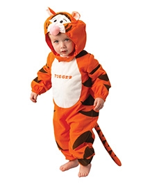 Disney Tigger Themed Costume - Red And Black