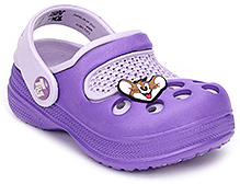 Tom And Jerry Clog Back Strap - Purple