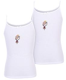 Gini & Jony Slips White - Set Of 2