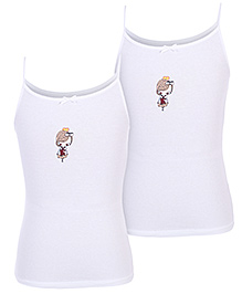 Gini & Jony Slips White - Set Of 2