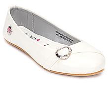 Barbie Flat Ballerina - White