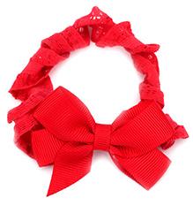 NeedyBee Hair Band Red - Bow