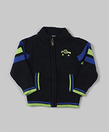 Bee Born Cool Winter Jacket - Navy Blue - 0-3 Months
