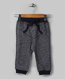 Gray Casual Tweed Pants