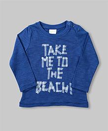 Blue Beach Theme T-shirt