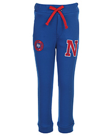 Noddy Original Clothing Track Pant Tie Up Knot - Ribbed Bottom