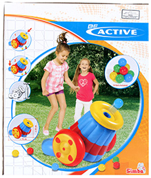 Simba Be Active Inflatable Ball Cannon