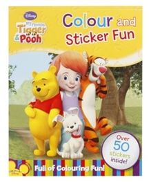 Disney My Freinds Tigger & Pooh - Color and Sticker Fun