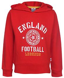 Ollypop Hooded Sweatshirt - England Print