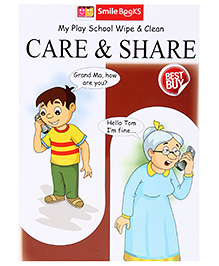 Smile Books My Play School Wipe And Clean Care And Share - English