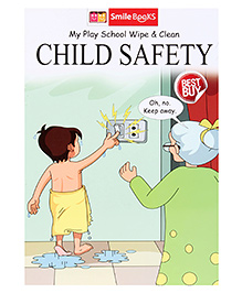 Smile Books My Play School Wipe And Clean Child Safety - English