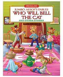 Dreamland Book Jumbo Aesops English - Who Will Bell The Cat