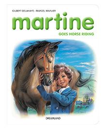 Dreamland Books Martine Goes Horse Riding - English
