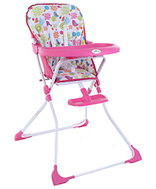 1st Step Baby High Chair - Pink