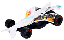 Hotwheels Ripcord Racers - White