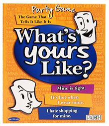 Toy Kraft Party Game - What's Yours Like