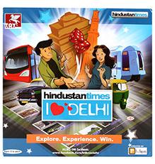 Toy Kraft Travel Game Hindustan Times - I Love Delhi
