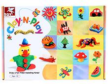 Toy Kraft  Clay N Play - Cut Out Models
