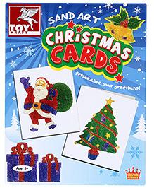 Toy Kraft Sand Art - Christmas Cards