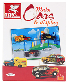 Toy Kraft Make Cars And Display