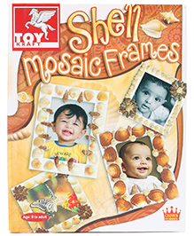Toy Kraft Shell Mosaic Frames - 8 Years +