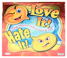Toy Kraft Card Game Love It - Hate It - 10 Years +