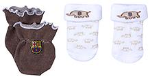 Babyhug Socks And Mittens Set