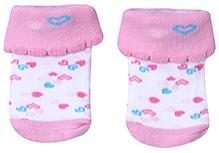 Babyhug Socks - Heart Print