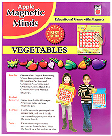 Apple Books Magnetic Minds Vegetables - English