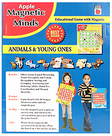 Apple Books Magnetic Minds Animals And Young Ones - English