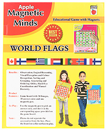 Apple Books Magnetic Minds World Flags - English