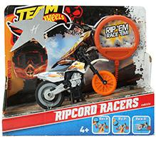 Hotwheels Motorcycle Ripcord Racers - Black