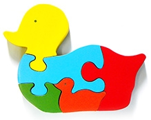 Wood O Plast Duck Jigsaw Puzzle