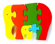Wood O Plast Elephant Jigsaw Puzzle
