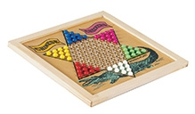Wood O Plast Chinese Checker And Chess Set