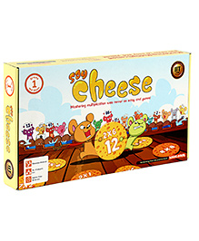 Logic Roots Say Cheese Maths Game For Kids - 9 X 9 X 2 Inches