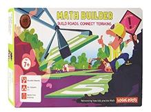 Logic Roots Math Strategy Board Game - Math Builder