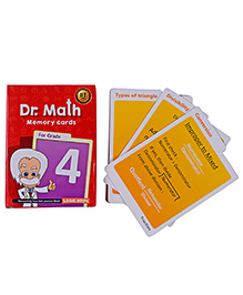Logic Roots Dr Math Flash Cards For Class 4 - Grade 4