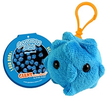 GIANTmicrobes Common Cold KC Clip On Plush Toy