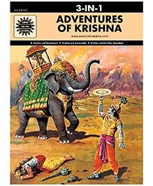Amar Chitra Katha - Adventure Of Krishna