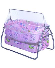 Mee Mee Baby Cradle - Baby Print