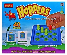 Buddyz - Hoppers Peg Solitaire Jumping Game