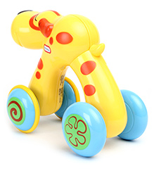 Little Tikes Press And Go Dog - Yellow
