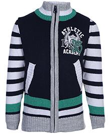 Babyhug Full Sleeve Sweater - 35 Patch