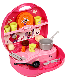 Smoby Minnie Mini Kitchen Set - Pink