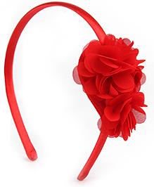Addon Hair Band - Floral Applique