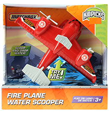 Matchbox Fire Plane Water Scooper
