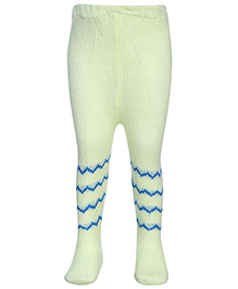 Babyhug Footed Tights Stockings - Lemon
