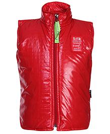 Little Kangaroos Sleeveless Jacket - Red